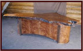 live edge desk with drawers natural edge or live edge furniture