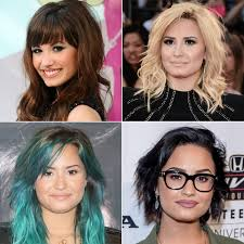 cut before dye hair demi lovato hair pictures popsugar latina
