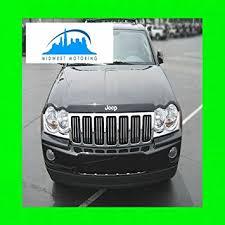 2007 jeep grand grille amazon com 2005 2010 jeep grand chrome trim for grill