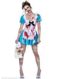 Alice Wonderland Costume Halloween Scary Alice Wonderland Costume Costumes Spotted