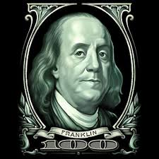 sleeve t shirt big benjamin franklin hundred dollar bill