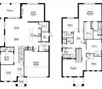 5 bedroom modern house plans two story pdf double storey bungalow