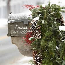 Brick Mailbox Christmas Decor by 30 Ideas To Dress Up Your Mailbox In A Fairy Tale Look For This