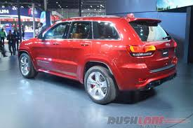 jeep suv 2016 check out jeep grand cherokee srt features at auto expo 2016