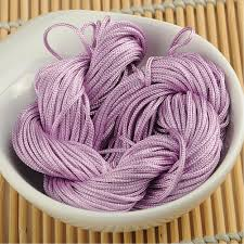 knotting cord 19 colors 1mm diameter knot cord 30m knot