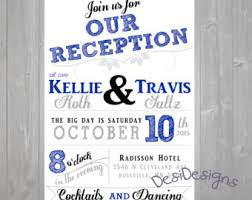 Reception Only Invitation Wording Samples Reception Only Wedding Invitations Kawaiitheo Com
