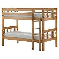 Milano Single  Ft Pine Bunk Bed With  Single Oxford - Milano bunk bed