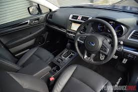 2015 subaru legacy interior 2015 subaru liberty 3 6r review video performancedrive