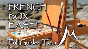 french box easel full guided tour youtube