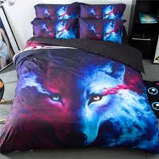 wolf bed set wolves zvalue