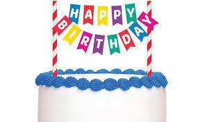 birthday cake decorations happy birthday bunting cake topper cake toppers decorations