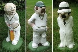 concrete garden cricketers