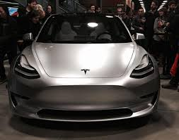 tesla model 3 shown off at employee party new images cleantechnica