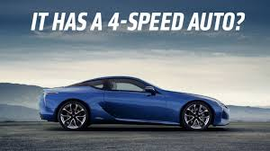 where do they lexus cars the lexus lc 500h is a car from the future with a transmission