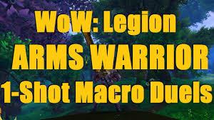 Bajheera Legion Arms Warrior Talent Guide Pve Pvp Bajheera Legion Arms Warrior Duels 1 Macro Alpha Tricks D