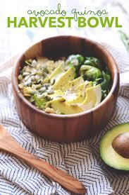 cuisine quinoa avocado quinoa harvest bowl