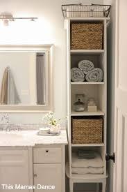 Small Bathroom Storage Ideas Pinterest Best 25 Bathroom Storage Ideas On Pinterest Small Cabinets 1000