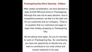 macy s tells employees to brace for 6 p m thanksgiving day