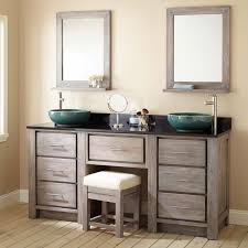 Bathroom Vanity Makeup Area by 72