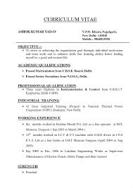 kinds of resume format collection of resume template free resume template format to