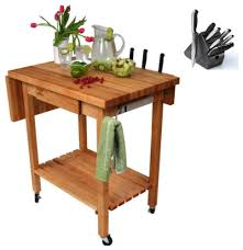 boos kitchen island boos qcl butcher block 24x24 table and henckels 13