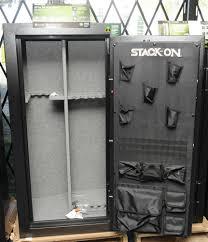 Stack On 18 Gun Cabinet by Stack On Elite 30 Guns Fire Safe Electronic Lock Black