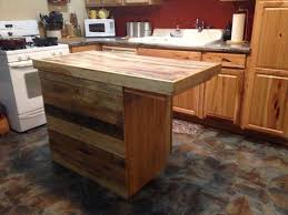 make kitchen island reclaimed pallet kitchen island table pleasant how to make a out of