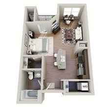 One  Bedroom ApartmentHouse Plans Apartment Floor Plans - Studio apartment layout design
