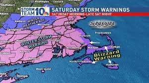 Boston Safety Map Storm Team 10 Saturday Brings More Snow Wjar