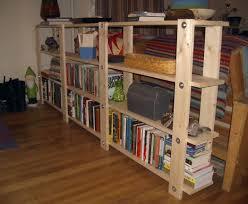 diy bookshelf cheap easy low waste plans loversiq