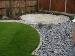 surprising wood fence fit to diy zen garden with round garden