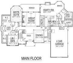 european style house plan 5 beds 7 50 baths 7980 sq ft plan 458 13