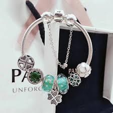 bracelet charms pandora jewelry images 2018 pandora charm bracelets lucky clover sterling silver 925 jpg