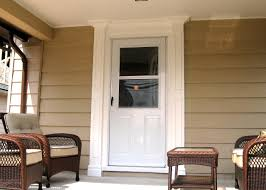 Building An Exterior Door Frame Weekend Projects Frame An Outside Entry With Porch Columns Hgtv