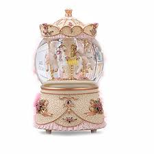 b ornament snow globe led color changing lights wind