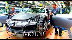 porsche stuttgart factory car factories porsche 911 production zuffenhausen youtube