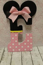 Letter Decorations For Nursery Mouse Inspired Decorative Letter Nursery Letter Decor