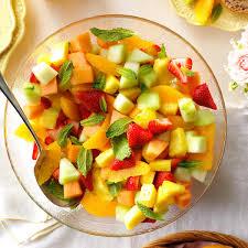 fruit salads for thanksgiving fresh fruit bowl recipe taste of home