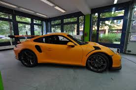 porsche cayman orange 2016 porsche 911 gt3 rs wrapped in racing orange matt gtspirit