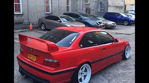 bmw m3 stanced stanced my bmw e36 m3 youtube