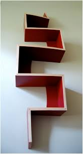 picture of zig zag bookshelf all can download all guide and how