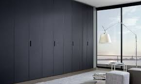 Hinged Wardrobe Doors Contemporary Wardrobe Glass Lacquered Glass With Hinged Door