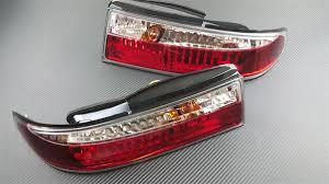 nissan 350z tail lights p2m nissan s14 zenki 3pcs crystal rear tail light kit led version