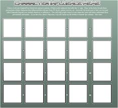 Character Memes - character influence meme blank by dansyron on deviantart
