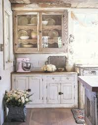 Shabby Chic Kitchen Cabinets 37 Shabby Chic Kitchen Cabinets On A Budget New Kitchen Style