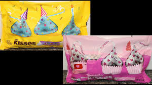 hershey u0027s birthday cake kisses vs cupcake kisses u2013 blind taste