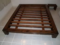 Queen Wood Bed Frame U2013 by Simple Bed Frame 22 Simple Bed Frame Diy Bed Frame Tutorial