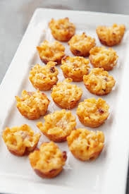 mini macaroni and cheese appetizer recipe popsugar food