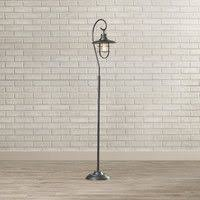 Edison Bulb Floor Lamp Threshold Seeded Glass Industrial Floor Lamp Includes Edison