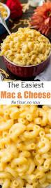 easy macaroni u0026 cheese no flour no roux sugar spun run